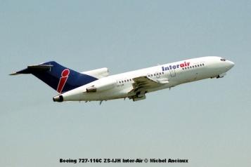 img2023 Boeing 727-116C ZS-IJH Inter-Air © Michel Anciaux