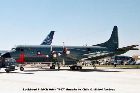 img780 Lockheed P-3ACh Orion ''407'' Armada de Chile © Michel Anciaux