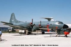 img782 Lockheed P-3ACh Orion ''407'' Armada de Chile © Michel Anciaux