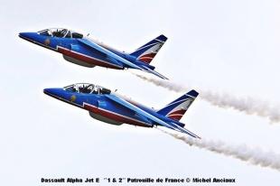 DSC_0196 Dassault Alpha Jet E ´´1 & 2´´ Patrouille de France © Michel Anciaux