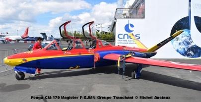 DSC_0647 Fouga CM-170 Magister F-GJMN Groupe Tranchant © Michel Anciaux