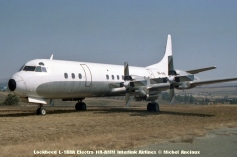 014 Lockheed L-188A Electra HR-AMM Interlink Airlines © Michel Anciaux