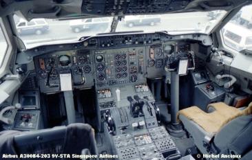 1130 Airbus A300B4-203 9V-STA Singapore Airlines © Michel Anciaux