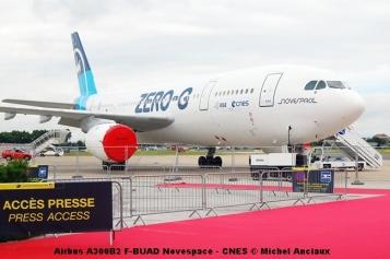 191 Airbus A300B2 F-BUAD Novespace - CNES © Michel Anciaux