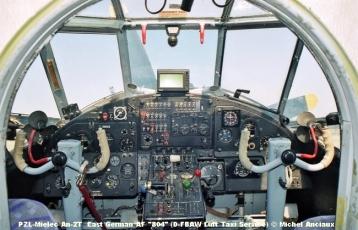 img089 PZL-Mielec An-2T East German AF ''804'' (D-FBAW Luft Taxi Service) © Michel Anciau