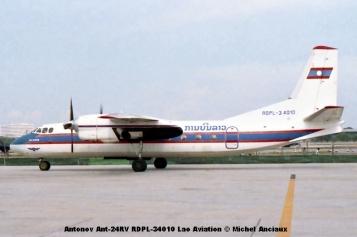 img355 Antonov Ant-24RV RDPL-34010 Lao Aviation © Michel Anciaux