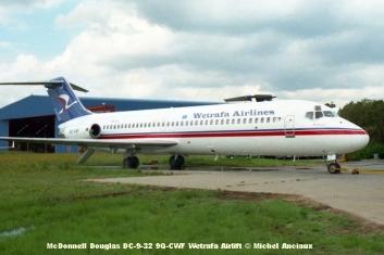 img408 McDonnell Douglas DC-9-32 9Q-CWF Wetrafa Airlift © Michel Anciaux