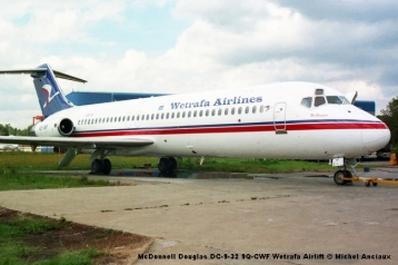 img410 McDonnell Douglas DC-9-32 9Q-CWF Wetrafa Airlift © Michel Anciaux