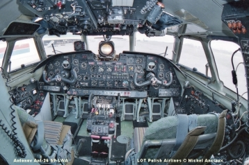 img446 Antonov Ant-26 SP-LWA LOT Polish Airlines © Michel Anciaux