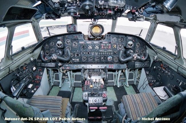 img448 Antonov Ant-26 SP-LWA LOT Polish Airlines © Michel Anciaux