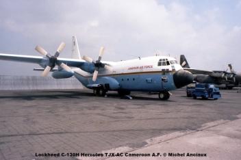 526 Lockheed C-130H Hercules TJX-AC Cameroon A.F. © Michel Anciaux