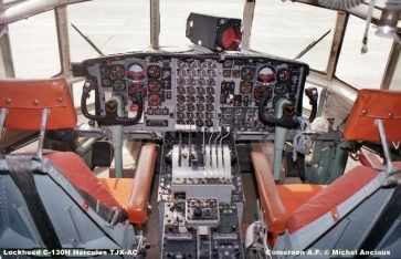 528 Lockheed C-130H Hercules TJX-AC Cameroon A.F. © Michel Anciaux