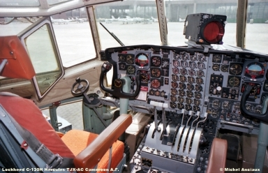 530 Lockheed C-130H Hercules TJX-AC Cameroon A.F. © Michel Anciaux